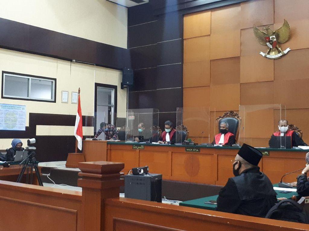 Kasus Surat Jalan Djoko Tjandra, Eksepsi Brigjen Prasetijo Ditolak