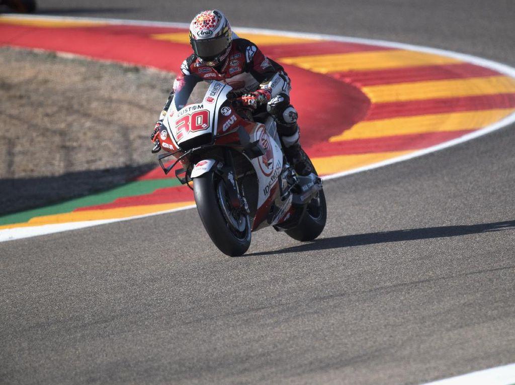 Video: Nakagami Tercepat di Kualifikasi MotoGP Teruel