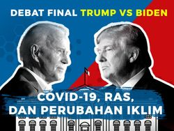 Saksikan Debat Final Capres AS