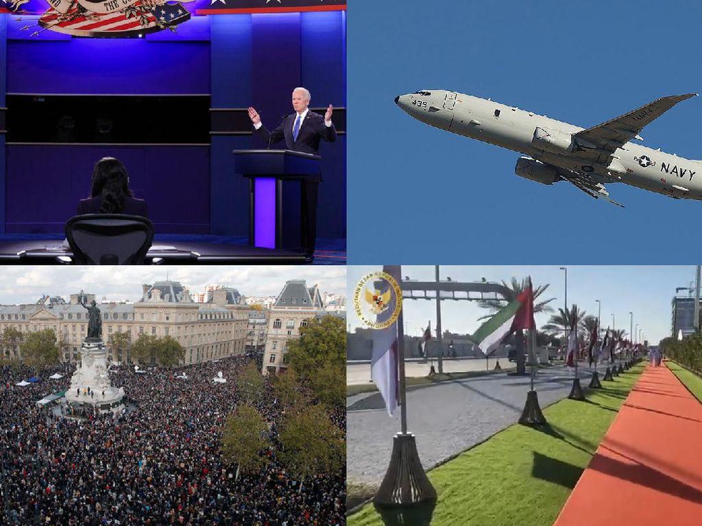 Top 5 Foto Pekan Ini: Debat Capres AS-Jalan Jokowi di UEA