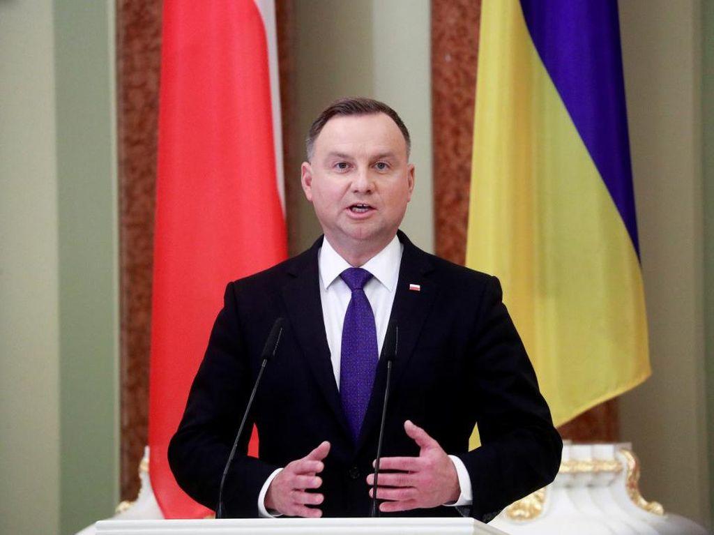 Presiden Polandia Positif Virus Corona