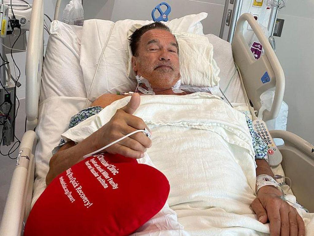 Operasi Jantung Lagi, Arnold Schwarzenegger: Saya Kembali!