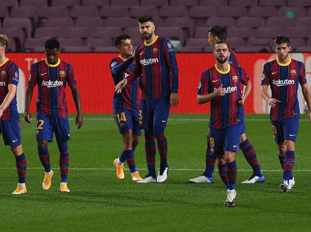 Courtois: Barcelona Remuk dari Luar, Solid di Dalam