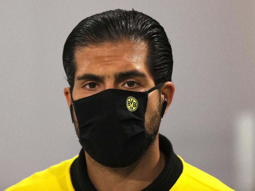 Jelang Derby Ruhr, Emre Can Positif Virus Corona