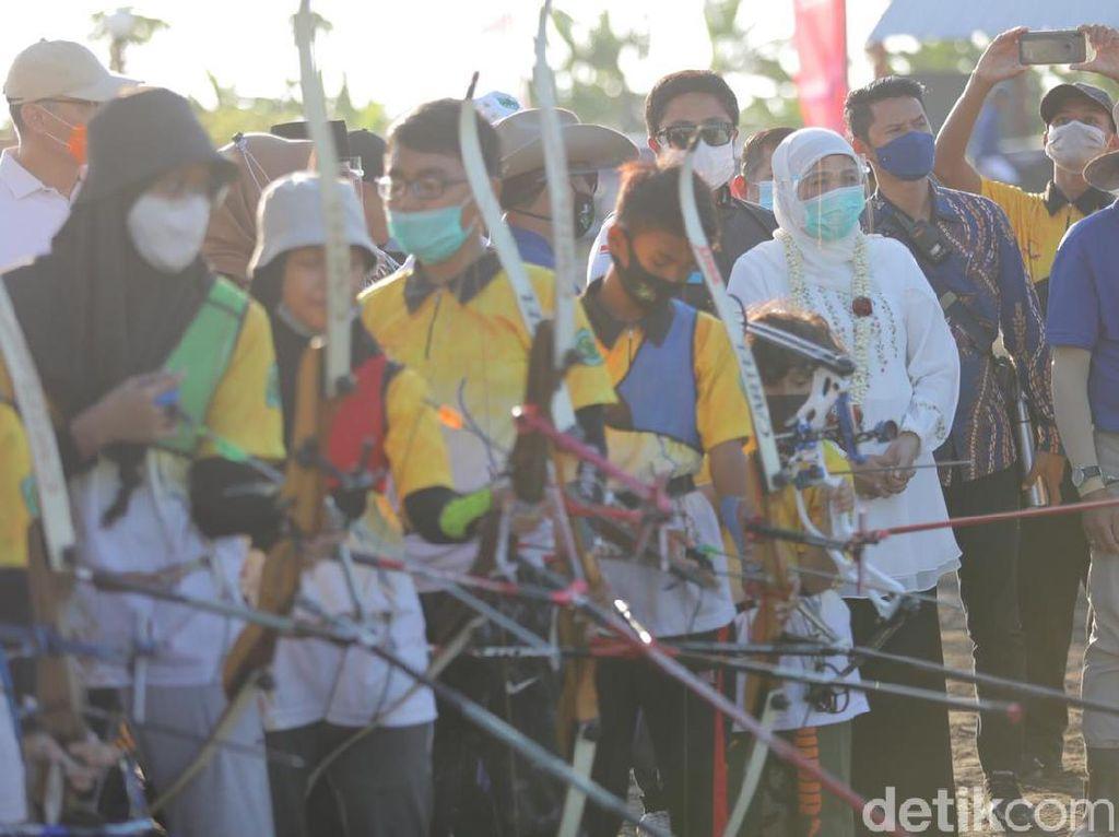 Khofifah Apresiasi Desa Dekat Semburan Lumpur yang Miliki Wisata Edukasi