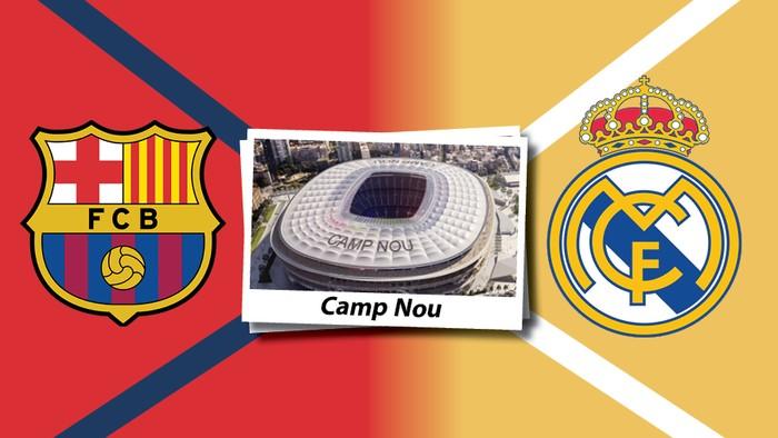 Infografis Barcelona vs Real Madrid