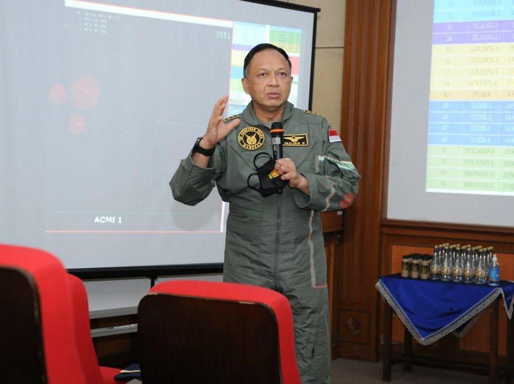 KSAU Minta Penerbang TNI AU Tingkatkan Kemampuan Taktik-teknik Tempur