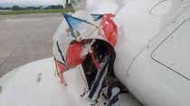 Ini Dia Layang-layang yang Nyangkut di Ban Pesawat Saat Akan Mendarat