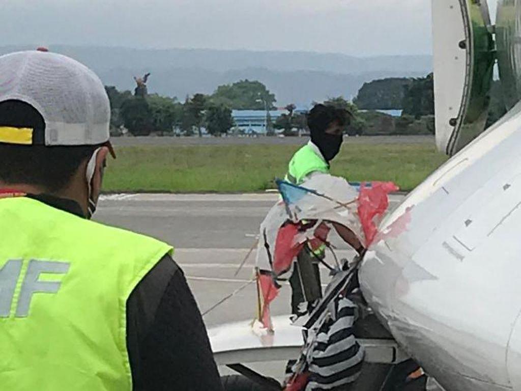 Saat Akan Mendarat, Pilot Sudah Lapor Banyak Layang-layang Dekat Bandara