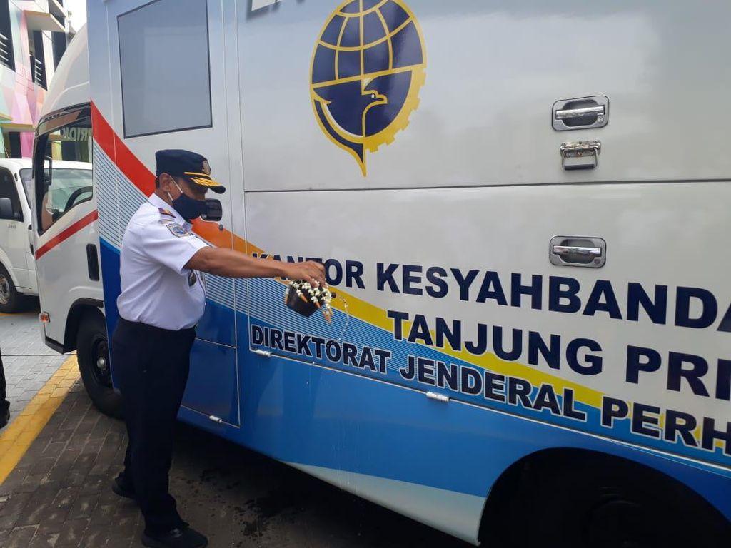 Kemenhub Resmikan Layanan Mobil Keliling Kesyahbandaran Tanjung Priok
