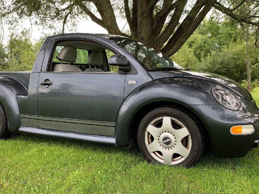 Ketika VW Kodok Dimodif Jadi Mobil Pikap