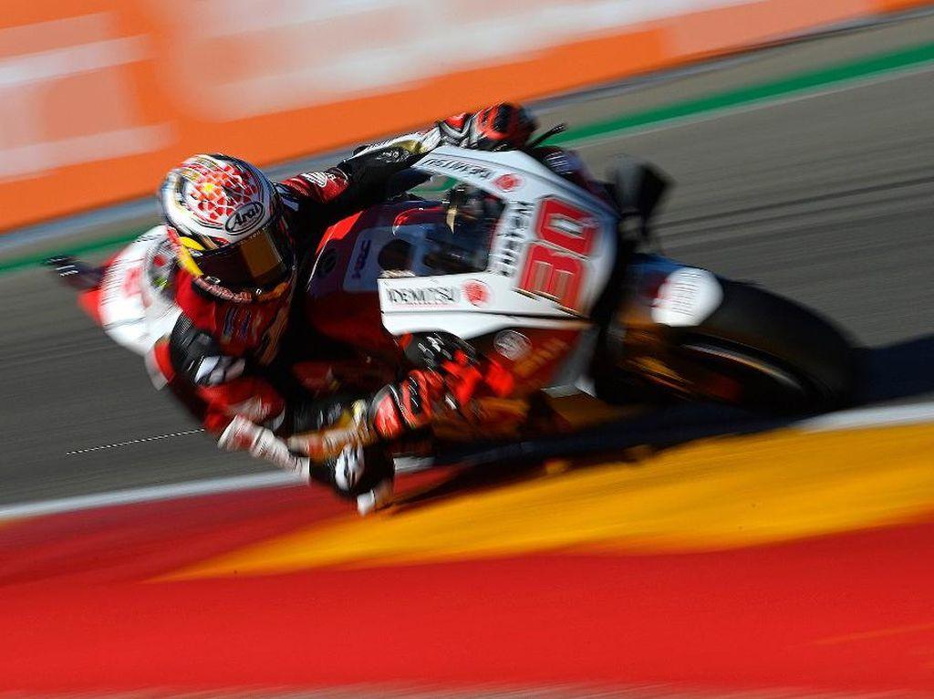 Hasil FP3 MotoGP Spanyol: Nakagami Tercepat, Marquez Crash