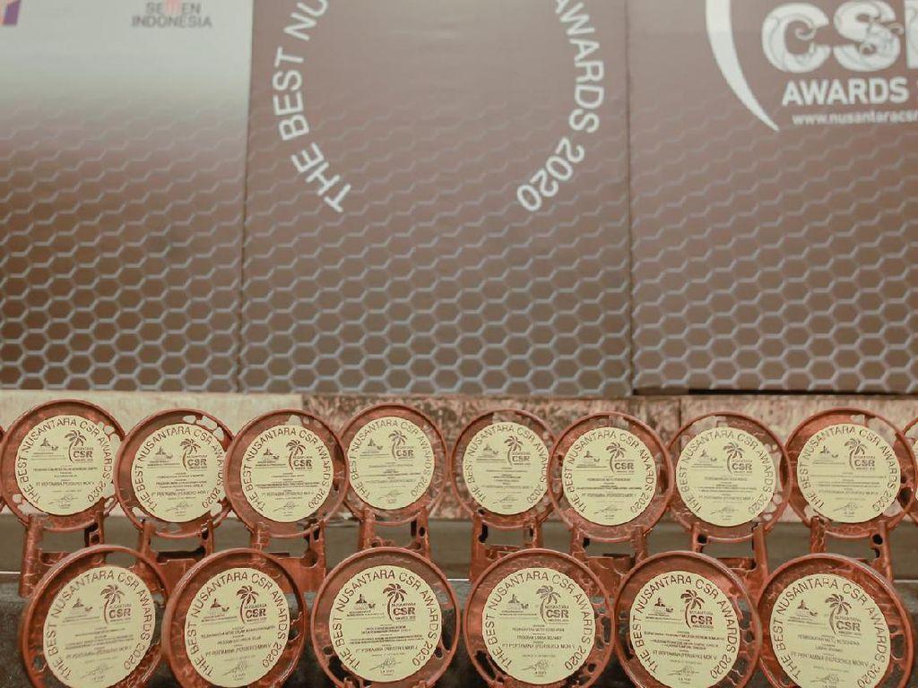 Pertamina Borong 13 Penghargaan Nusantara CSR Award 2020