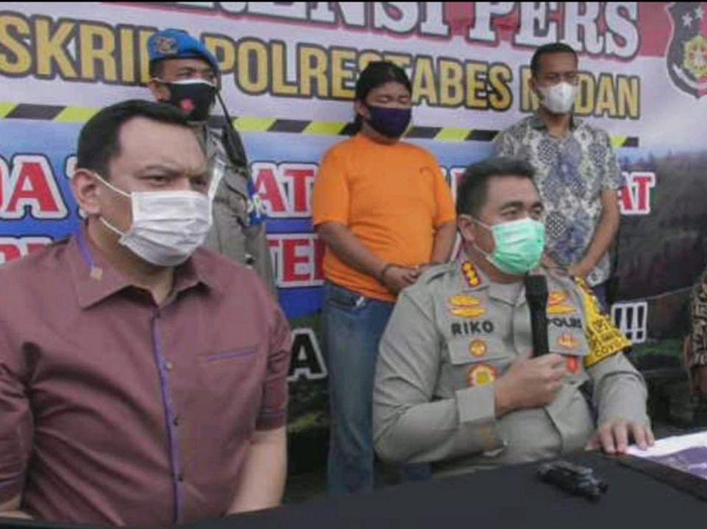 Rusak Mobil Dinas Saat Demo Ricuh di Medan, 3 Orang Jadi Tersangka