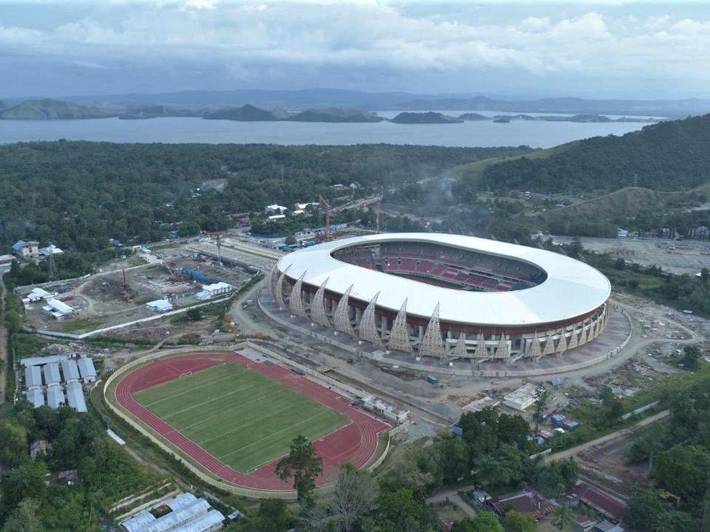 Kemegahan Stadion PON XX di Papua yang Dipamerkan Jokowi