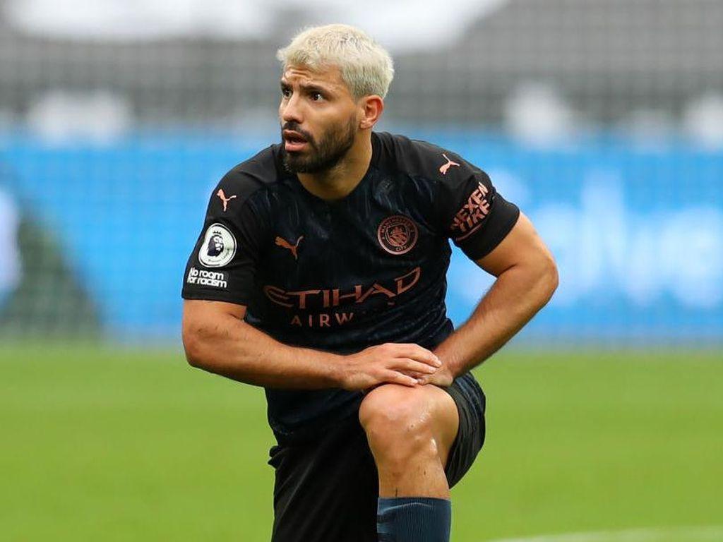 Sergio Aguero Masuk Radar Tottenham dan Chelsea?