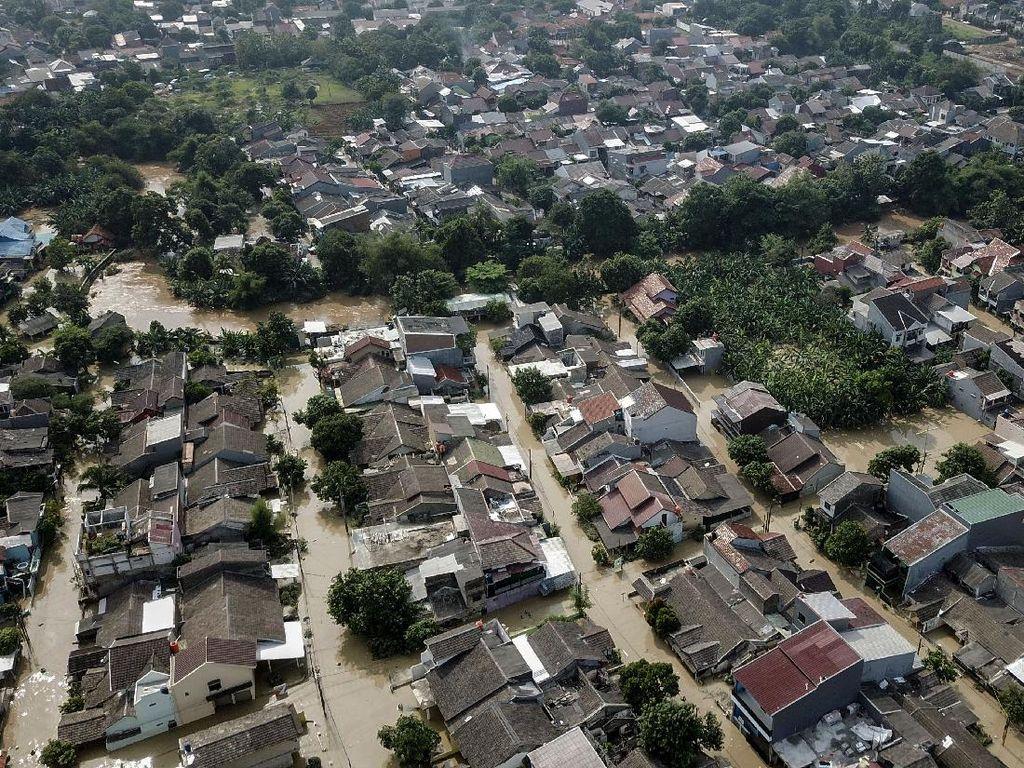 Banjir di Bekasi, Kawasan Villa Jatirasa Terdampak Paling Parah