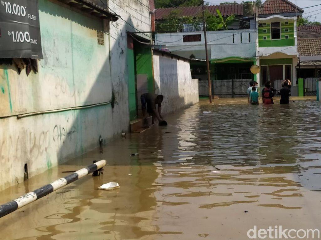 Ini Titik-titik di Kota Bekasi yang Masih Terendam Banjir