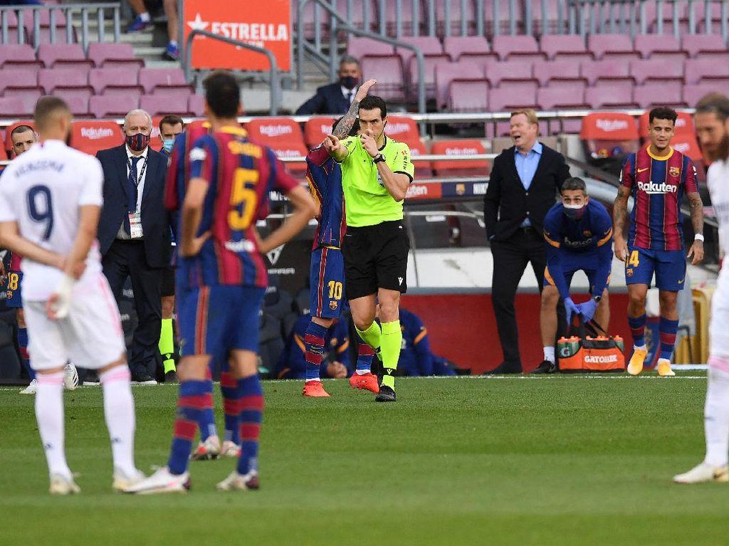Barca Vs Cadiz: Wasit yang Dituding Fans Madrid Kembali ke Camp Nou