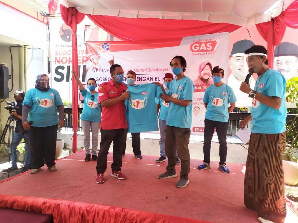 Gerakan Alumni Surabaya Satu Dukung Eri-Armuji