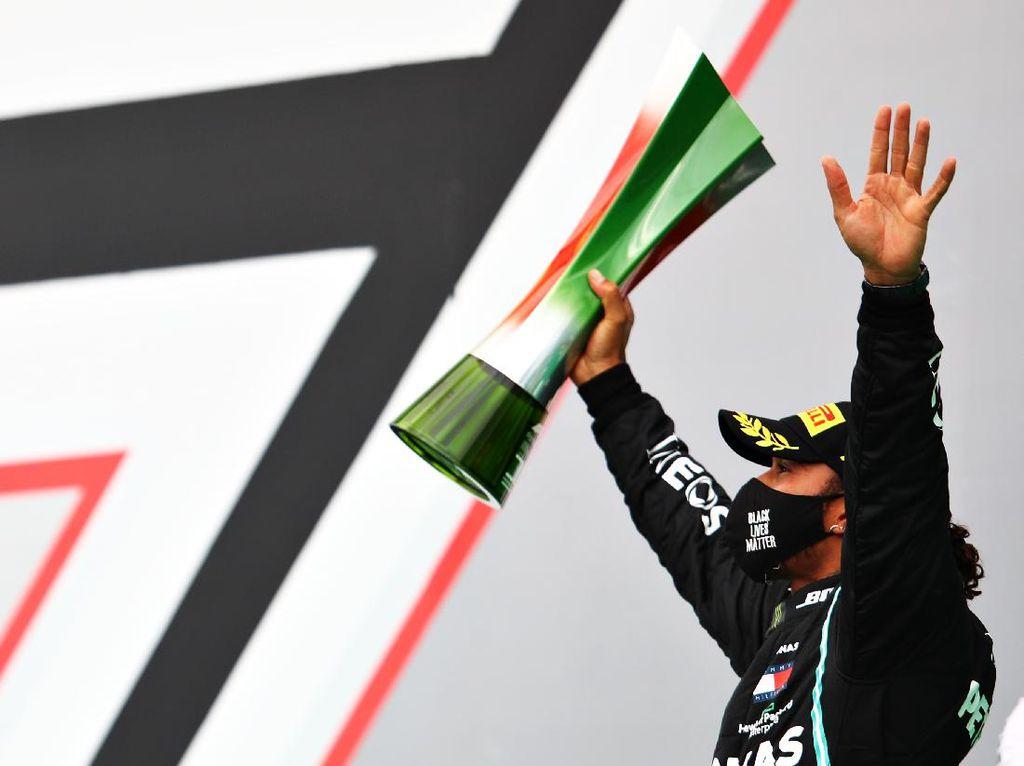 Juara F1 GP Portugal, Lewis Hamilton Lewati Rekor Michael Schumacher