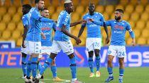 Video Comeback, Napoli Sukses Bungkam Benevento 2-1
