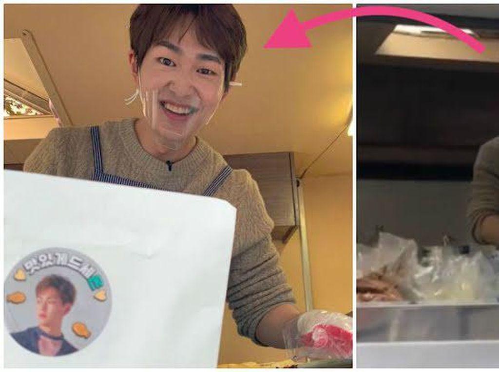 Keren! Onew SHINee Bikin Kue Ikan untuk Staf SM Entertainment