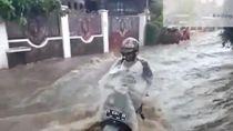 Banjir Seret Pemotor Bandung dan Tewaskan Gadis Cimahi
