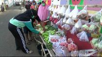 Warga Kampung di Kota Probolinggo Ini Sediakan Sayur dan Lauk Gratis