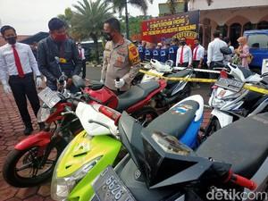 6 Pelaku Curanmor di Bandung Ditangkap, Satu Masih di Bawah Umur