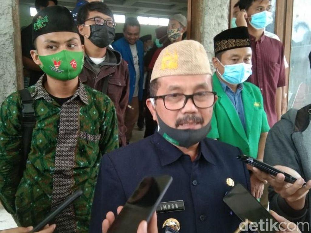 Hasil Swab Ketiga, Bupati Cirebon Dinyatakan Negatif COVID-19