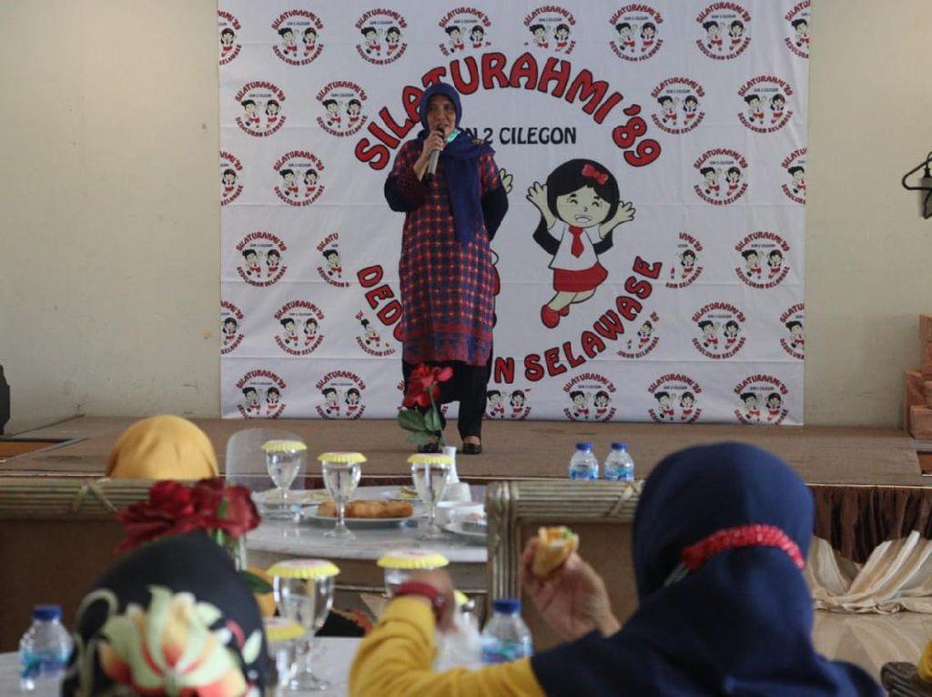 Kampanye Tatap Muka, Cawalkot Ratu Ati Janji Benahi Pendidikan di Cilegon