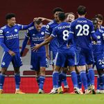 Arsenal Vs Leicester City: Gol Tunggal Vardy Kalahkan The Gunners
