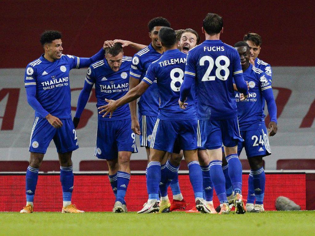 Arsenal Vs Leicester City: Gol Tunggal Vardy Kalahkan The Gunners