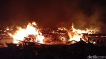 6 Bangunan Rumah di Blora Ludes Terbakar dalam Semalam