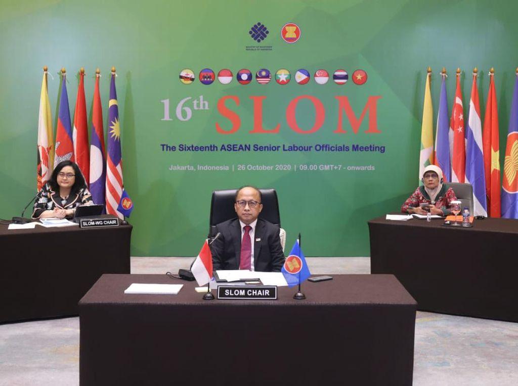 Kemnaker Ajak ASEAN Kuatkan Kerja Sama Atasi Krisis Ketenagakerjaan
