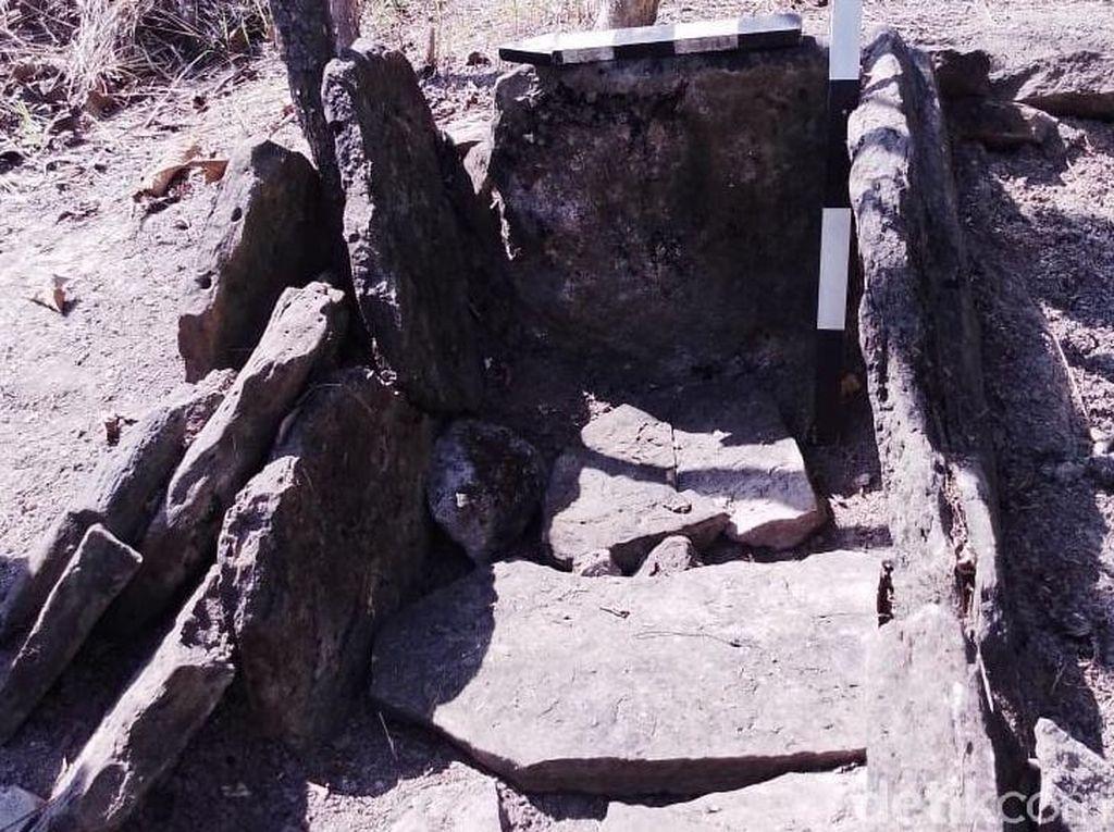 Penampakan Kuburan Batu Manusia Kalang yang Ditemukan di Blora