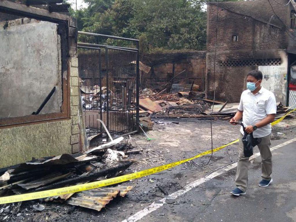 Lokasi Kebakaran di Simprug Jaksel Dipolice Line, Sejumlah Saksi Diperiksa