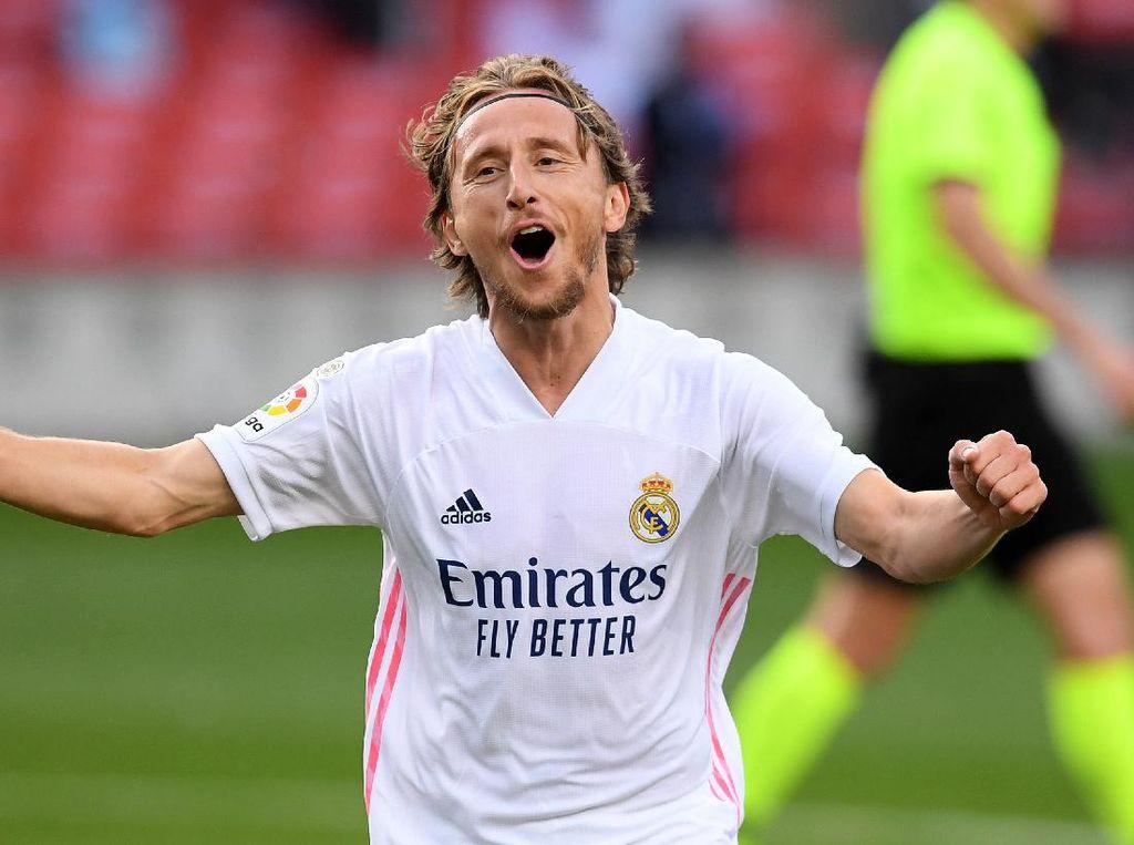 Selamat Tahun Kerbau, Modric! Dapat Kado Apa dari Lucas Vazquez?