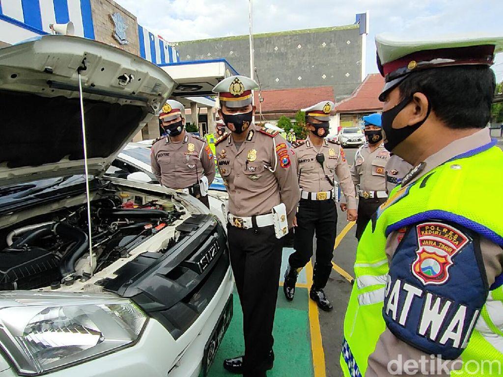 Libur Panjang, Polisi Kota Kediri Imbau Warga di Rumah Saja