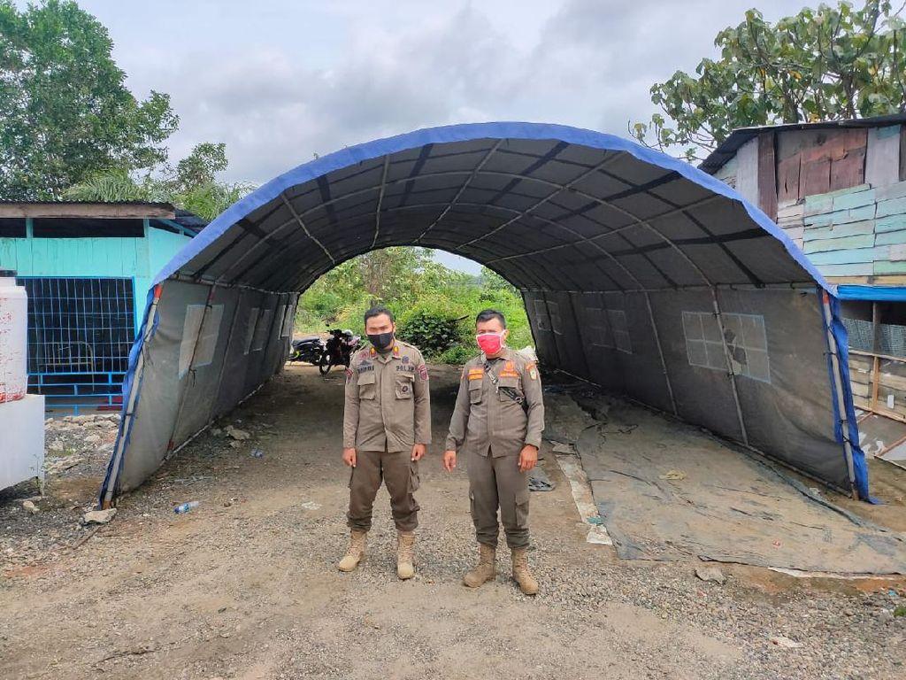 Pemprov Riau Kebut Pembuatan Posko Satgas COVID-19 Jelang Libur Panjang