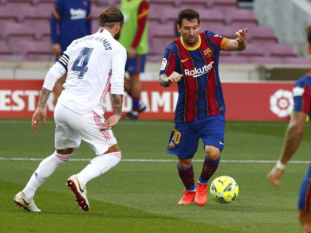 Bagaimana Nasib LaLiga Apabila Ditinggal Messi dan Ramos?