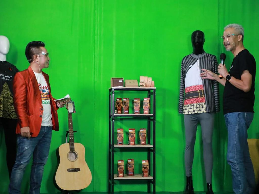 Ganjar Gelar UKM Virtual Expo, 5 Hari Raup Omzet Rp 1,68 M