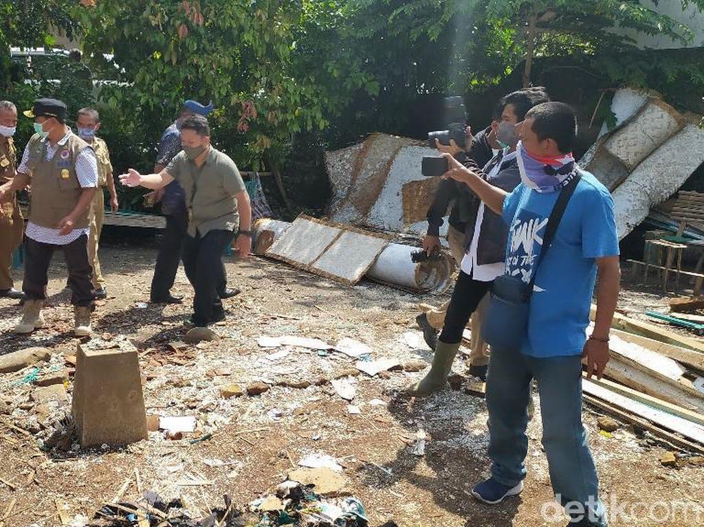 Tinjau Korban Gempa di Ciamis, Wagub Jabar Minta Pemda Perhatikan Rutilahu