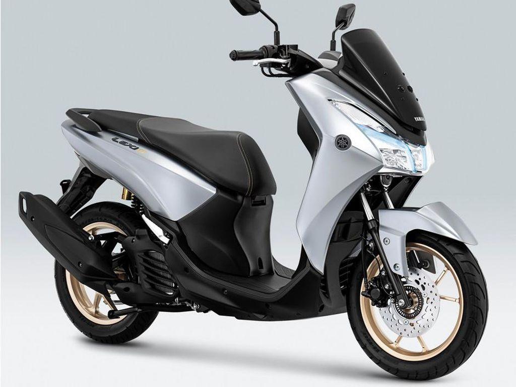 Makin Elegan, Ini Penampakan Yamaha Lexi Berbaju Putih