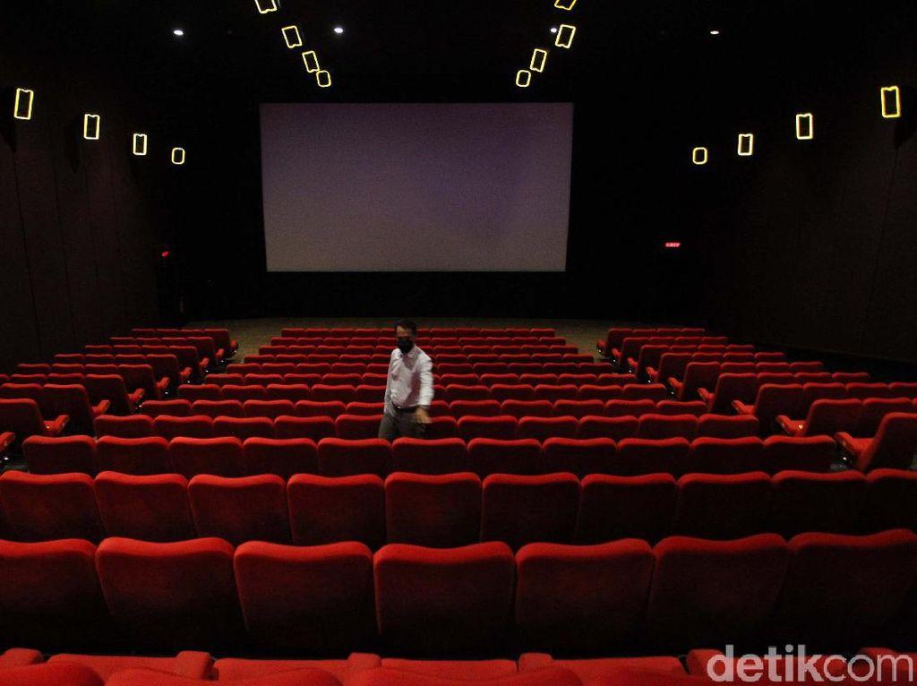 Bioskop di DKI Jakarta Kini Boleh Diisi Separuh, Tapi...