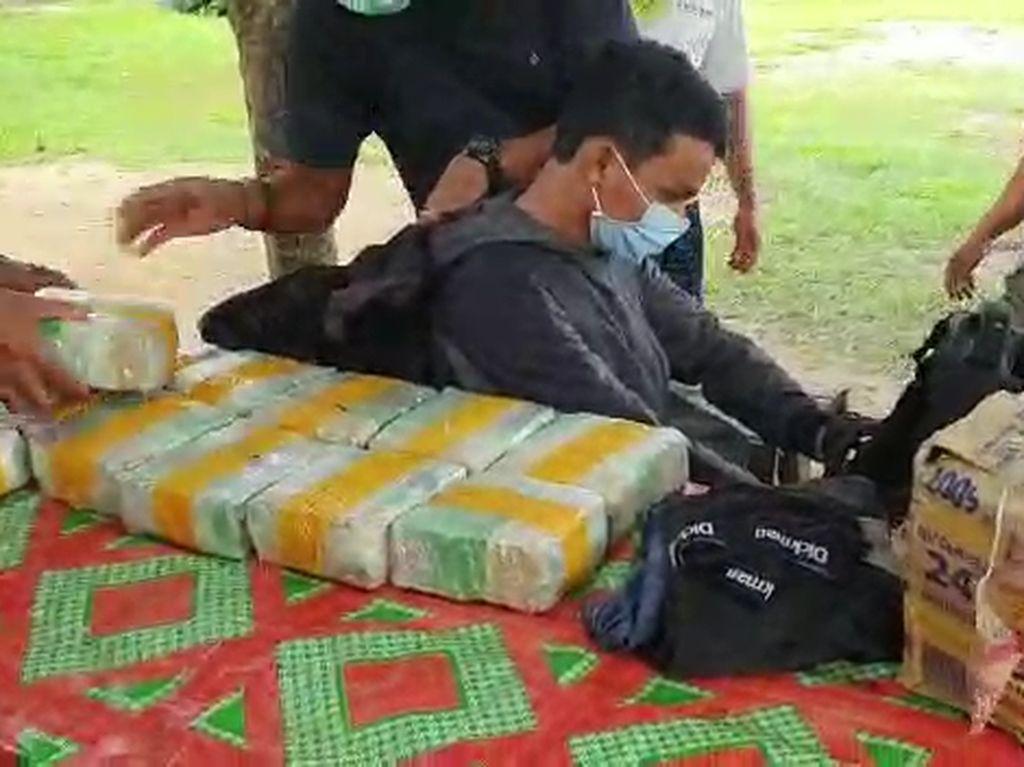 Video BNN Bekuk Kurir Sabu dan Ekstasi Asal Malaysia
