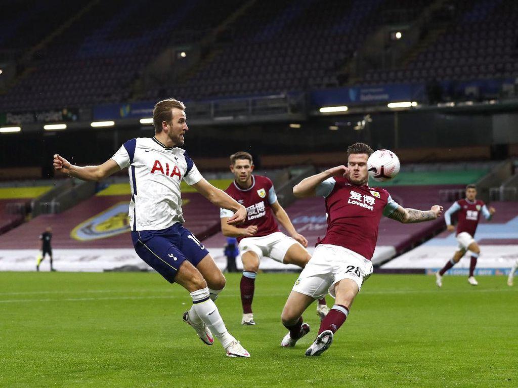 Burnley Vs Tottenham Imbang di Babak Pertama
