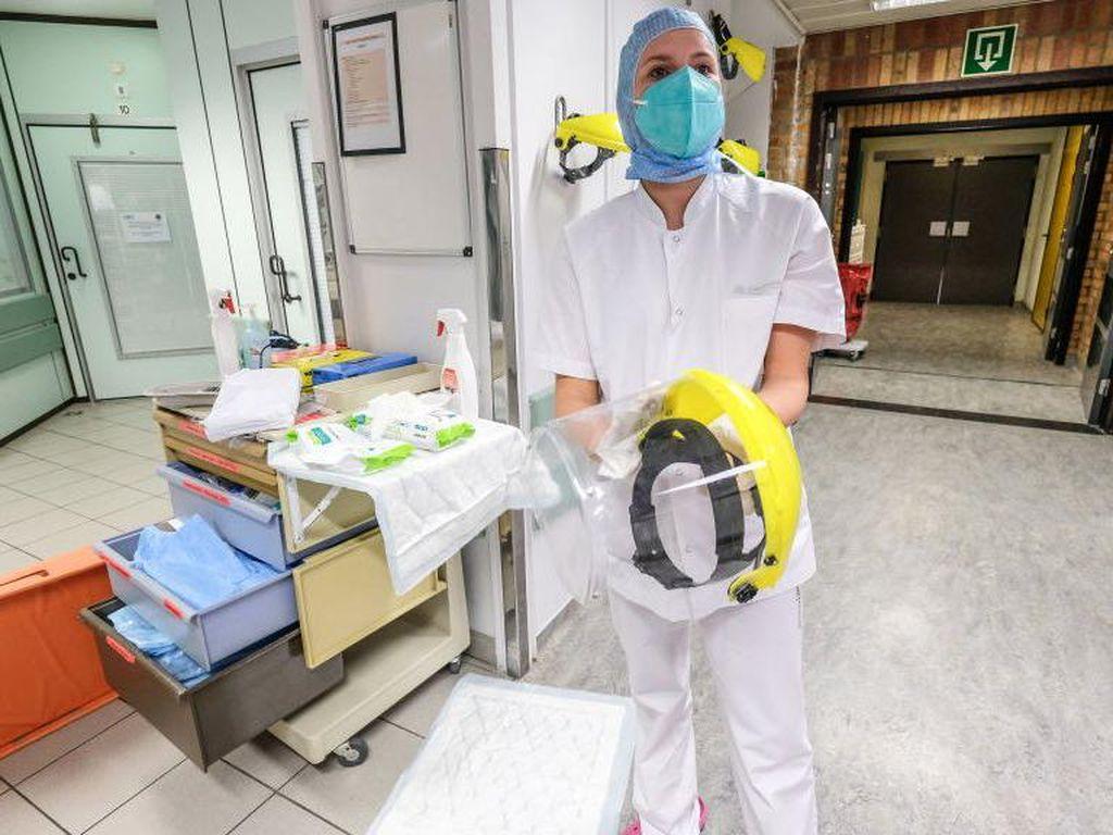 Para Dokter di Belgia Diminta Tetap Bekerja Walau Terjangkit Virus Corona