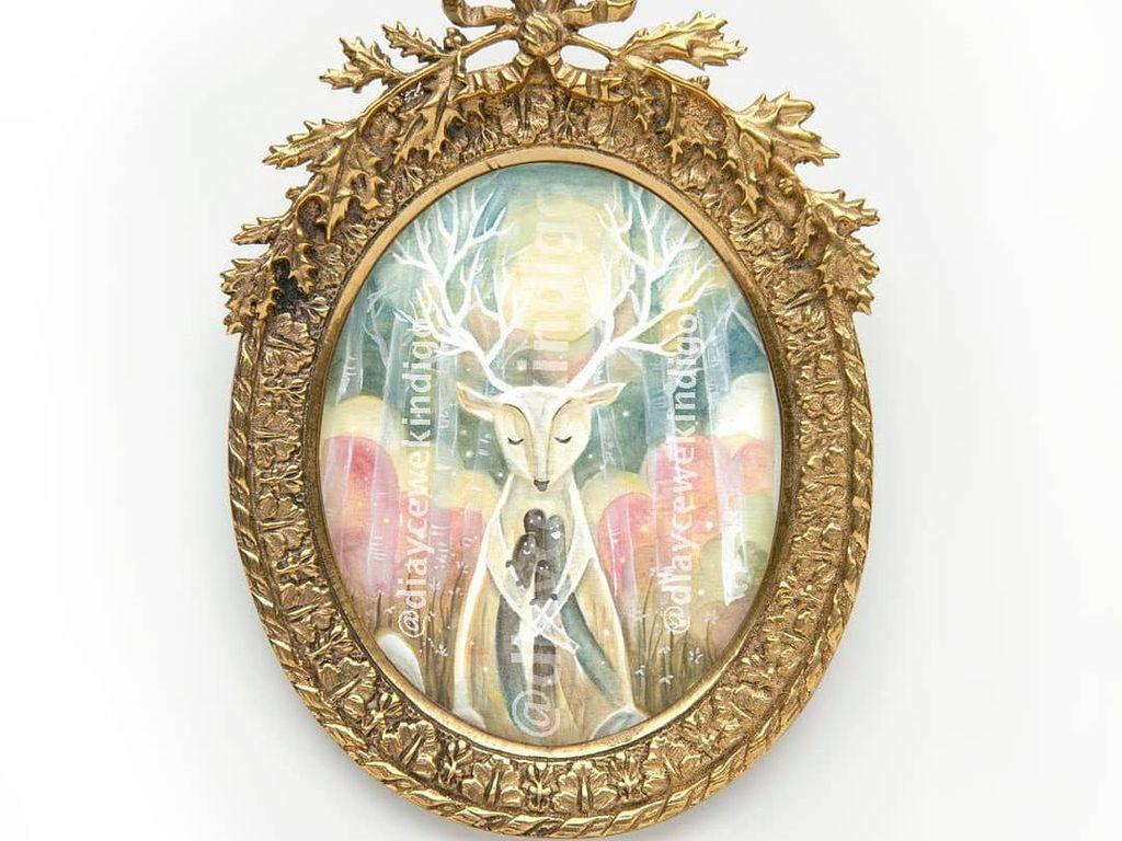 Di Balik Lukisan Raja Rusa Ciptaan Diary Cewek Indigo